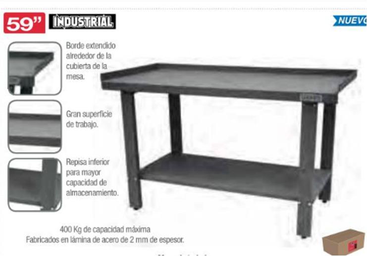 Centro de trabajo fijo urrea ideal taller mesa i59w 9 en mercado libre - Mesas de taller ...