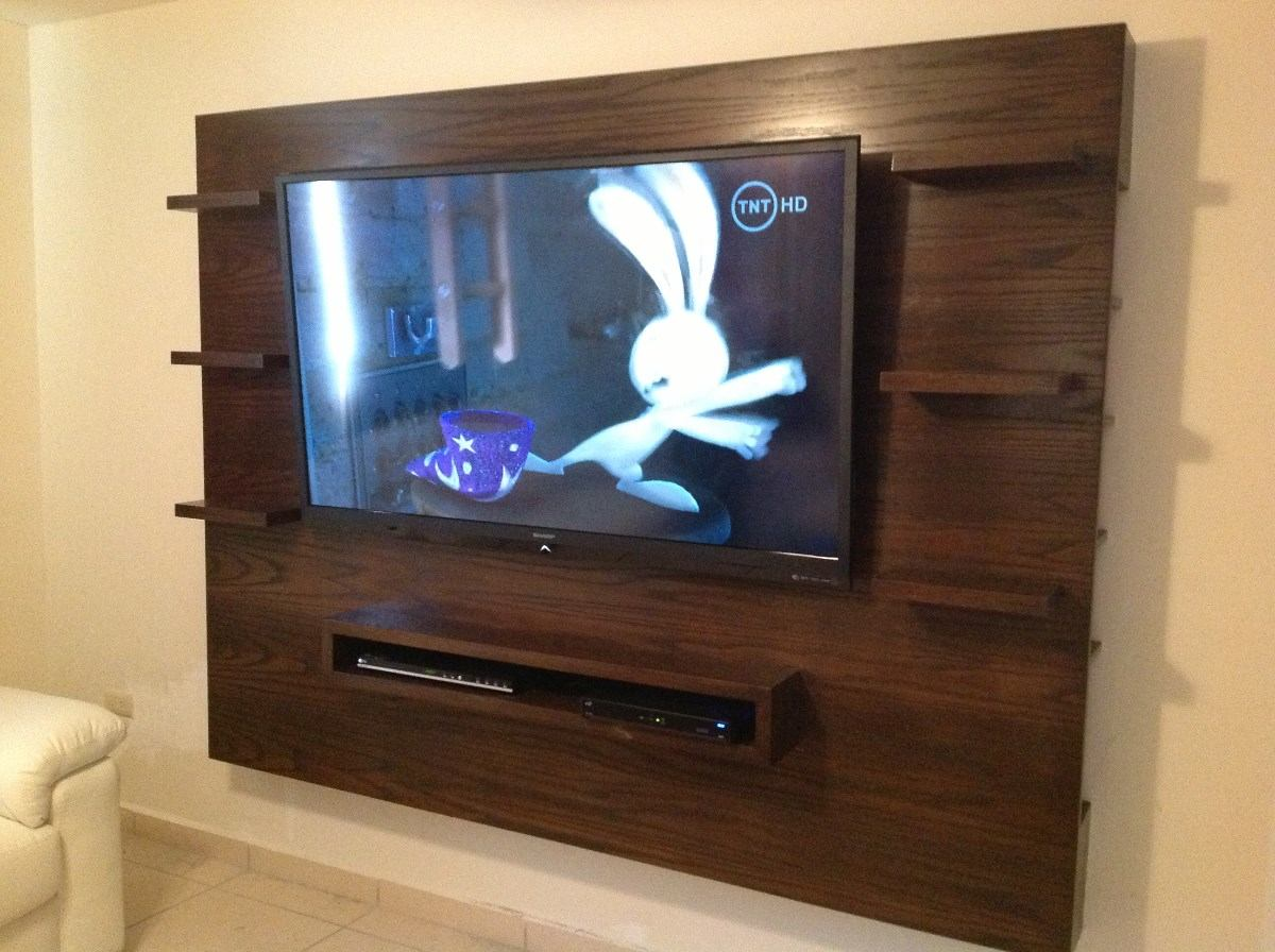 Centro entretenimiento ms mueble tv excelente for Muebles para tv en recamara