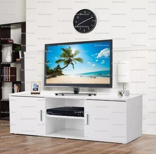 centro entretenimiento melamina tv nuevos sala