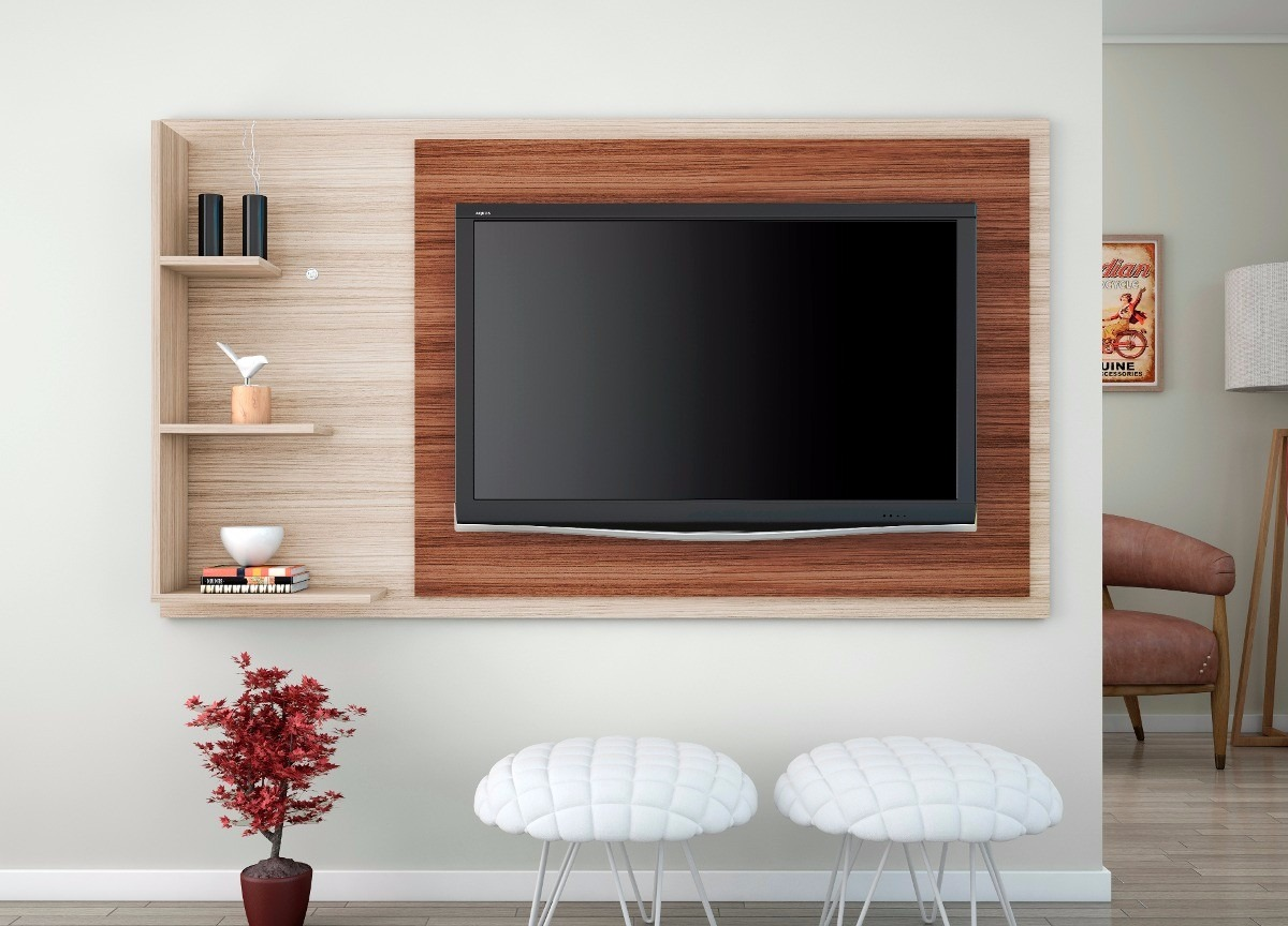 Centro de entretenimiento mueble para tv bs for Mueble pared