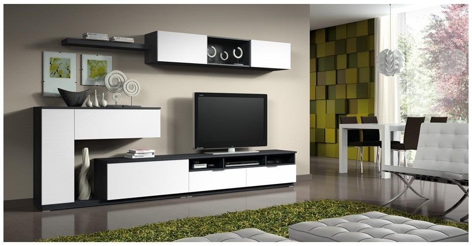 Centro de entretenimiento mueble tv modernos bs for Muebles para dormitorios modernos
