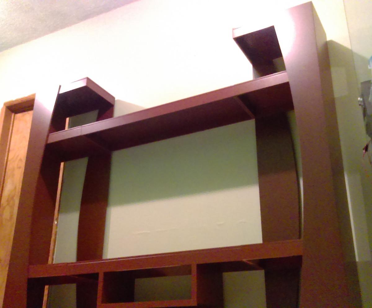 Centro Entretenimiento Mueble Modular Para Sala De Tv Madera  -> Medidas De Una Sala De Tv