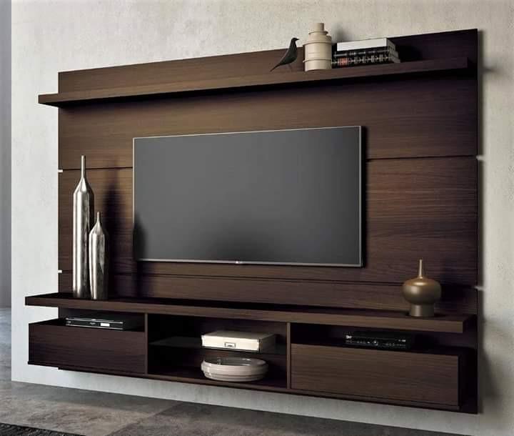 Mueble Rack Para Tv, Centro De Entretenimiento En Melamina