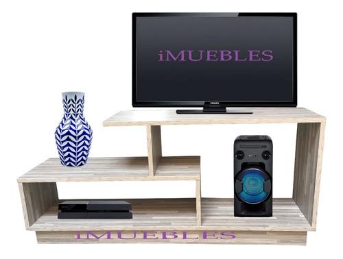 centro entretenimiento. mueble tv. melamina. tv rack