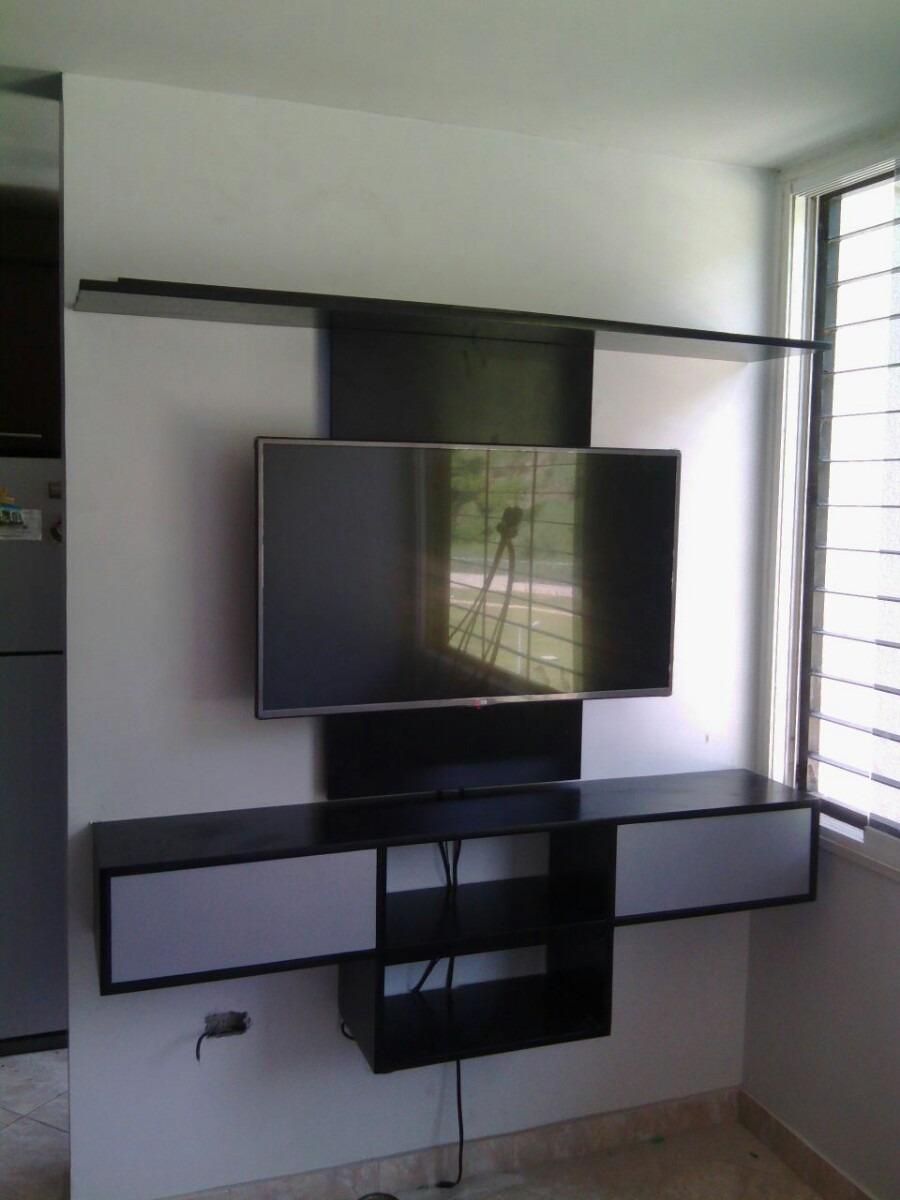 Centro entretenimiento tv blu ray dvd mueble repisa for Centro mueble