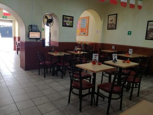 centro historico cdmx: se traspasa restaurante acreditado