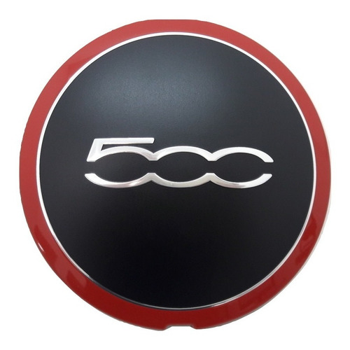centro llanta original fiat 500 sport serie 3 14/16