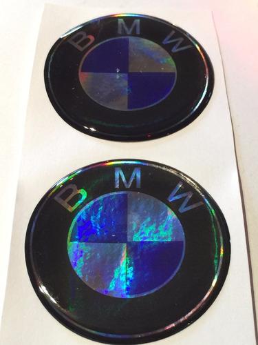 centro llantas tazas emblema logo bmw 55mm pack.x4