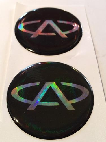 centro llantas tazas emblema logo chery 49mm pack.x4