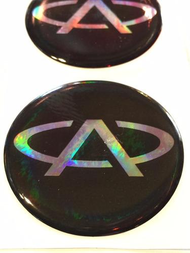 centro llantas tazas emblema logo chery 55mm pack.x4