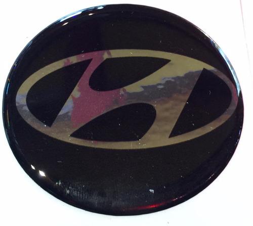 centro llantas tazas emblema logo hyundai 44mm pack.x4