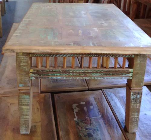 centro madeira mesa