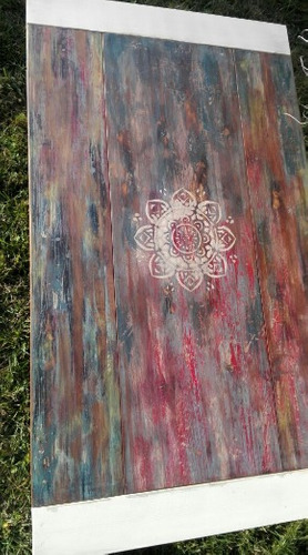 centro madera mesa