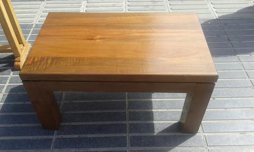 centro madera mesas