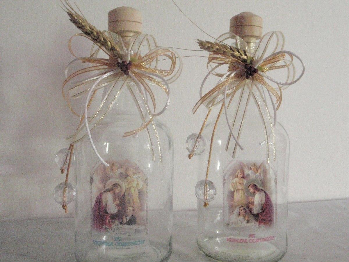 recuerdos de primera comunion botellas