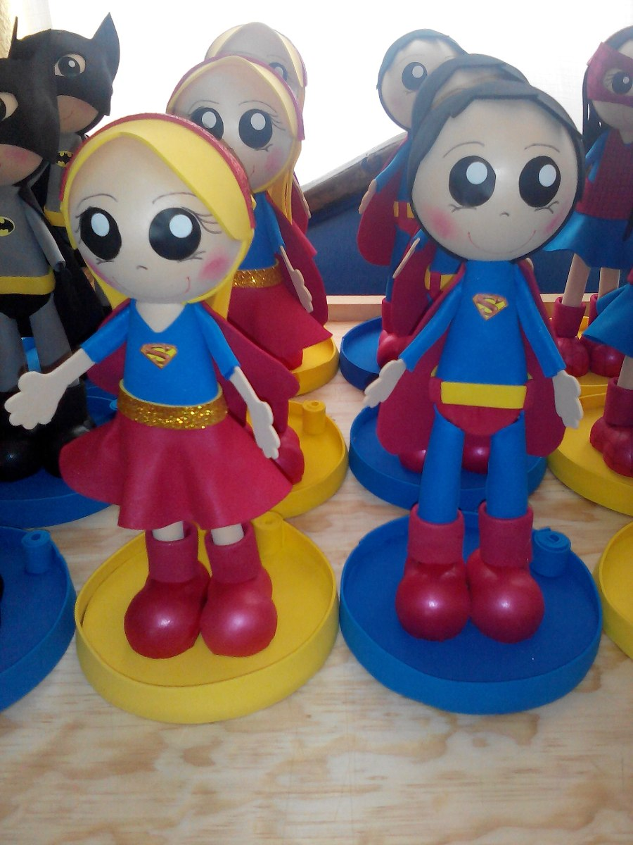 Centro de mesa super heroes fiestas infantiles - Mesas para cumpleanos infantiles ...