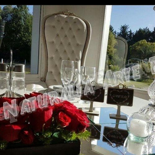 centro mesa flores naturales bodas  15 años decoracion