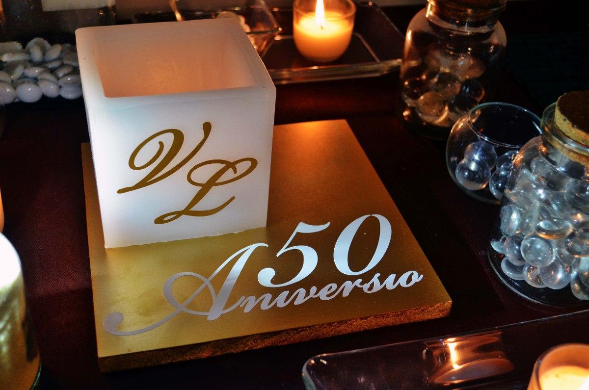 Centro de mesa para 50 aniversario aluzza en mercado libre - Precios de centros de mesa para boda ...