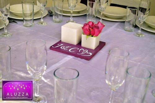 centro mesa para boda