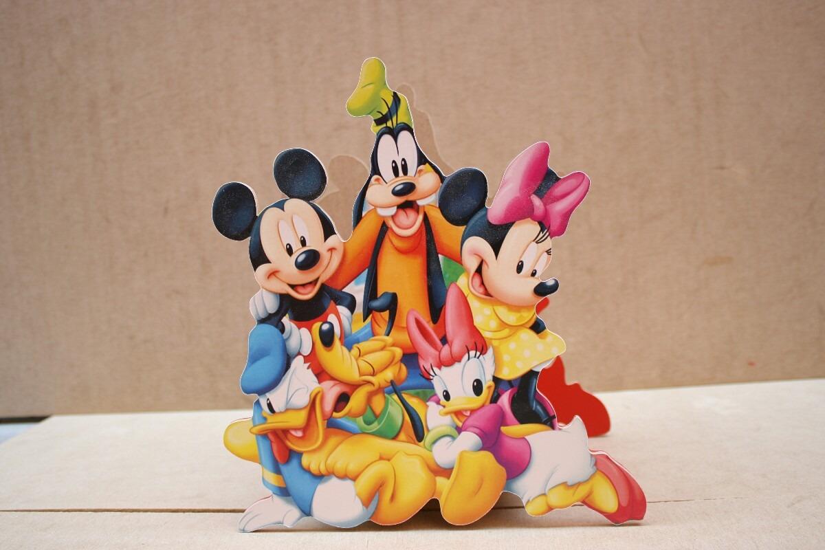 centro de mesa de mickey mouse para fiestas infantiles en mercado libre. Black Bedroom Furniture Sets. Home Design Ideas