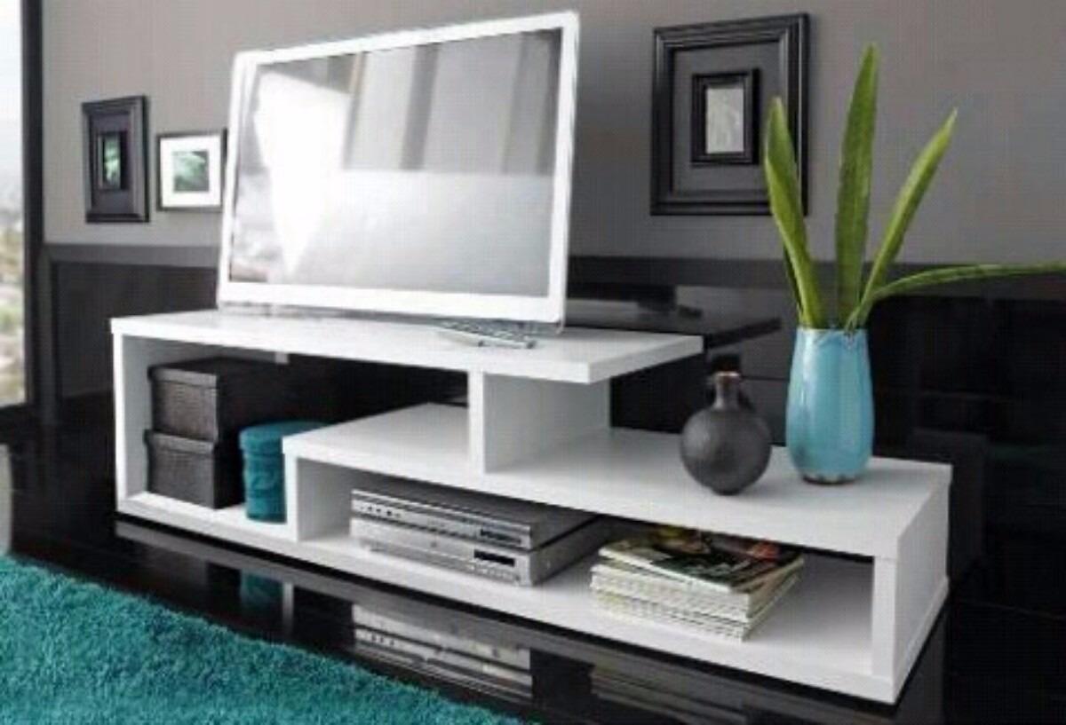 Centro minimalista de entretenimiento para tv comoda sala bs en mercado libre - Muebles para tv minimalistas ...