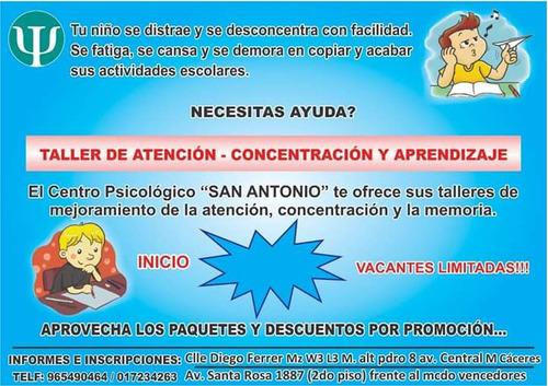 centro psicologico  san antonio