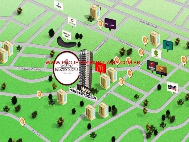 centro/n.iguaçu, palazzo ducale. promoção!! 3 suítes, condomínio completo, área privilegiada. - ap00278 - 33959491