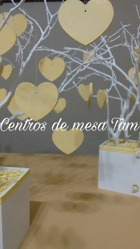 centros de mesa arbol de la vida cumpleaños, comunion, bodas