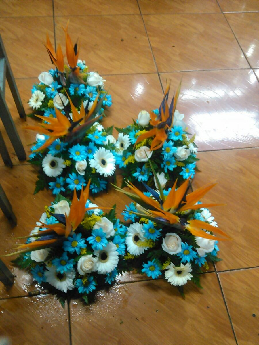 Centros de mesa arreglos matrimonio decoracion bouquets bs en mercado libre - Adornos mesa de centro ...