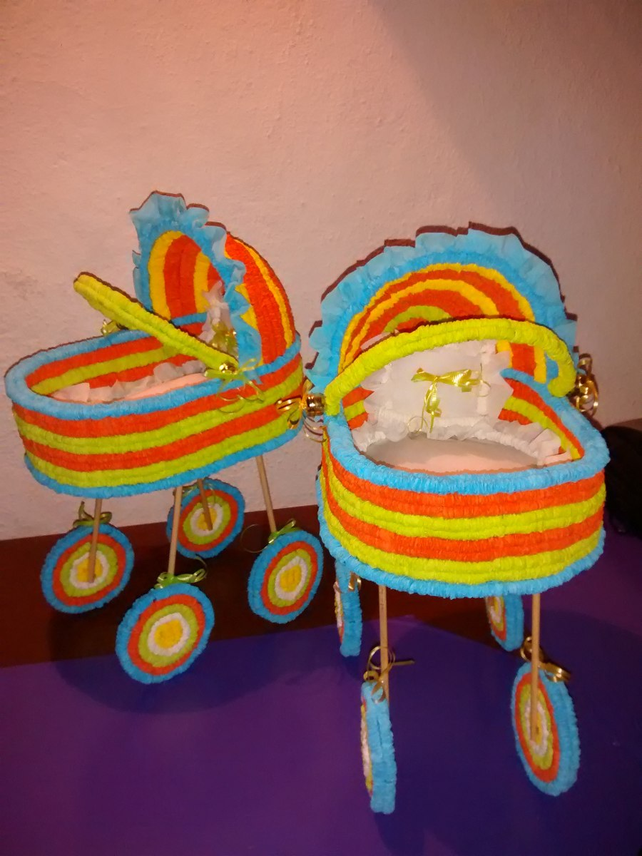 Centros de mesa carreolas crepe para baby shower 95 for Centro de mesa baby shower