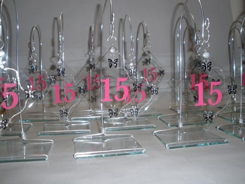 centros de mesa casamiento - 15 años