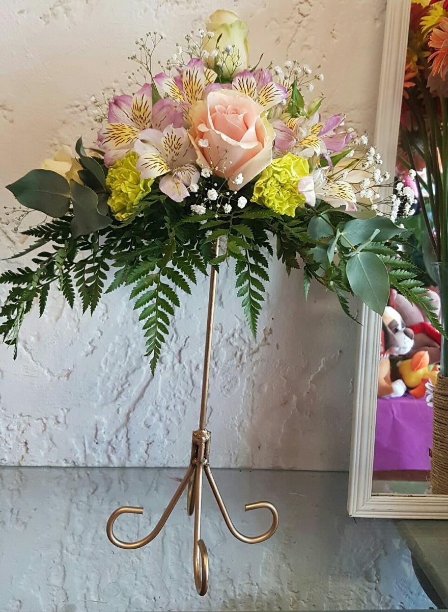Centros de mesa con flores naturales 350 00 en mercado libre - Centro de mesa con flores ...