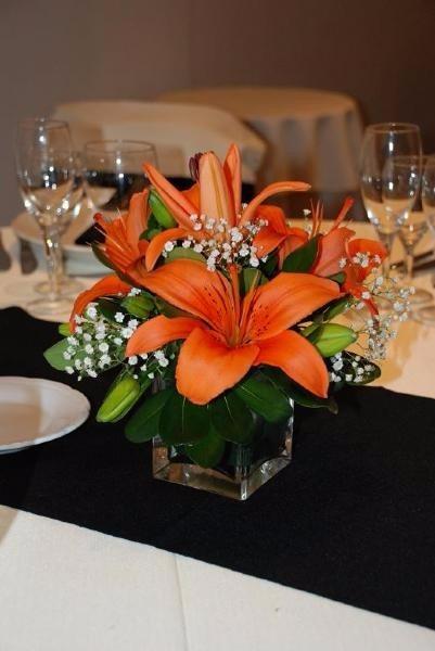Centros de mesa con flores naturales 45 00 en mercado for Centros de mesa con plantas naturales