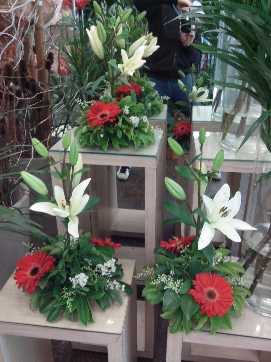 Centros De Mesa Con Flores Naturales 40 00 En Mercado Libre ~ Centros De Flores Naturales Para Mesas