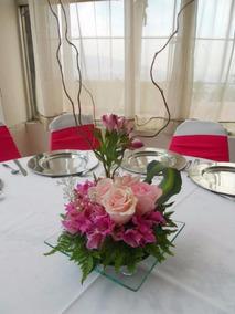 Centros De Mesa Con Flores Naturales En Mag Contreras
