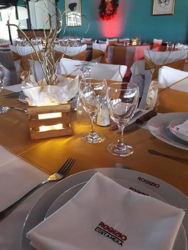 centros de mesa con leds