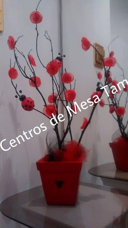Centros De Mesa Con Vaquitas De San Antonio - $ 255,00 en Mercado ...