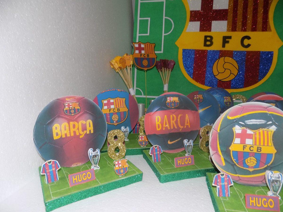 centros de mesa de pelotas del club barcelona 75 00 en