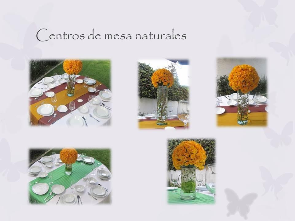Centros De Mesa Flores Naturales Hermosos Pide Tu Presupuest - Centros-de-mesa-de-flores-naturales