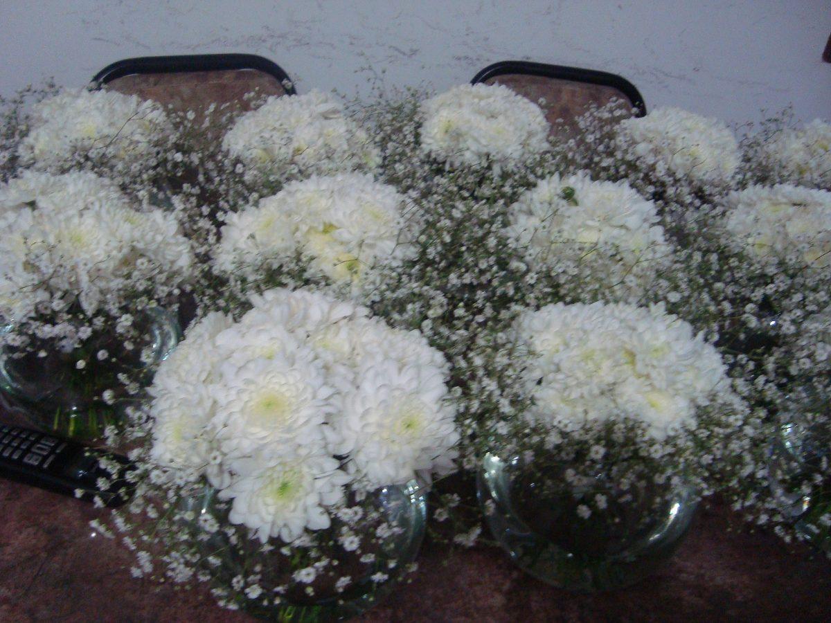 Centros De Mesa Flores Naturales Velas Esferas De Rosas 450  ~ Centros De Flores Naturales Para Mesas