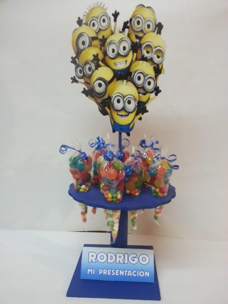 Centros de mesa infantiles con dulces en for Mesa infantil