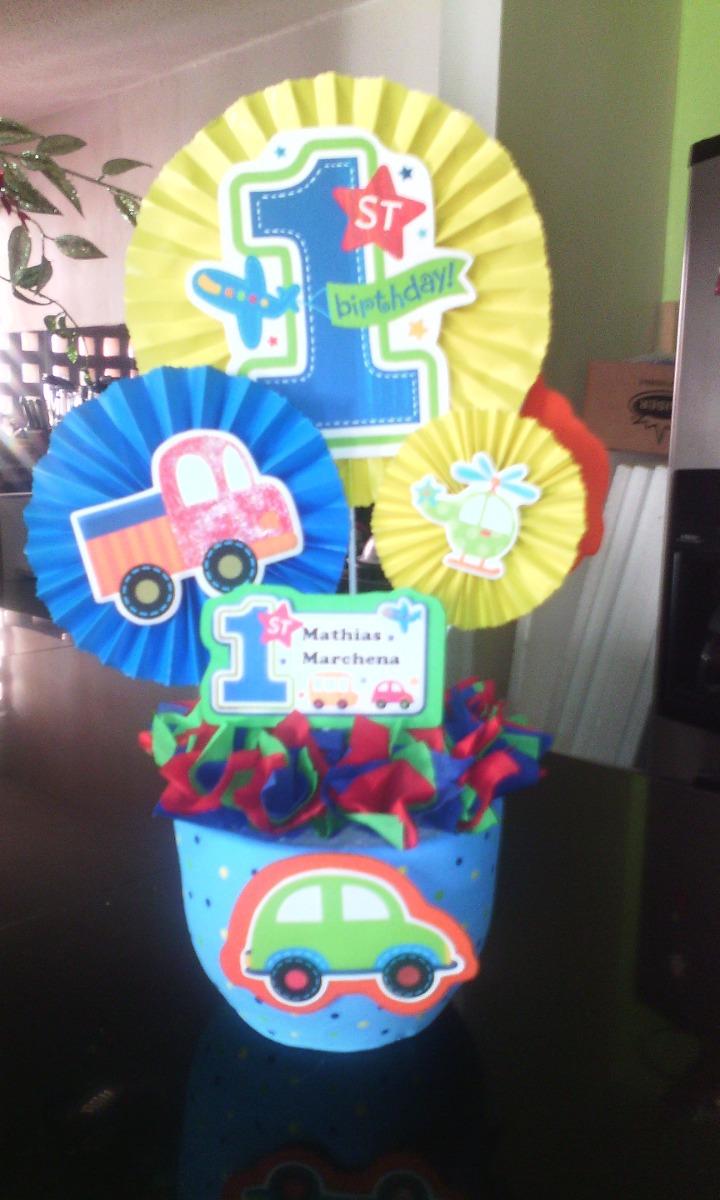 Centros de mesa infantiles para cumplea os y decoraciones bs 500 00 en mercado libre - Decoracion para cumpleanos infantiles en casa ...