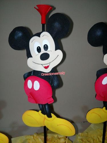 centros de mesa mickey  mouse.