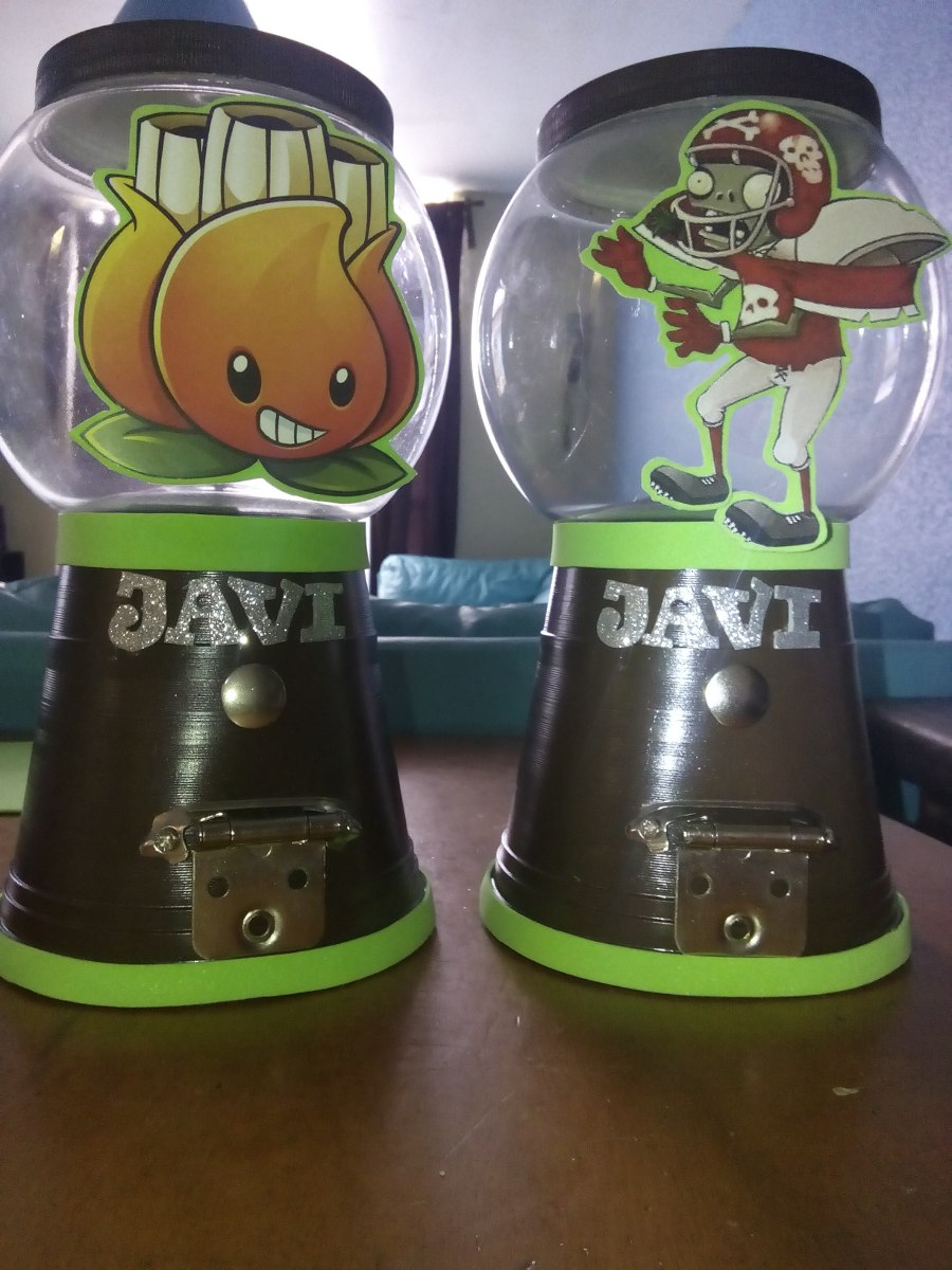 Centros de mesa plantas vs zombies o en for Decoracion con globos plantas contra zombies