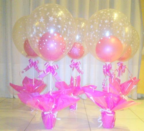 centros de mesa souvenir globos cumpleaños river