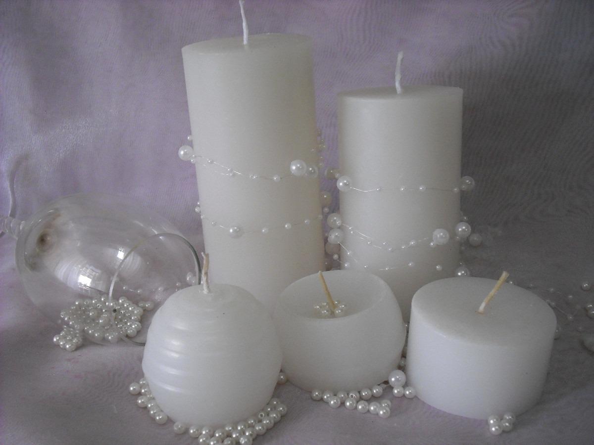 Centros de mesa fanales velas graduaciones bodas bs en mercado libre - Centro mesa velas ...