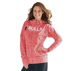 7577bf04ce807 Nba Chicago Bulls Receptor De Sudadera Con Capucha Para Muje