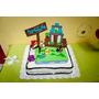 Centros De Torta Para Cumpleaños Infantiles En Goma Eva $300