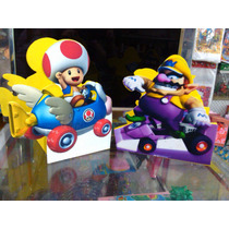 Centros De Mesa Mario Kart Mdf. Los Hacemos De Cualquier Per