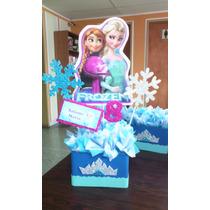 Centro De Mesa Para Fiesta Infantiles Frozen, Decoración